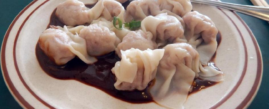 Hunan Dumplings at the So Good Restaurant in Ottawa