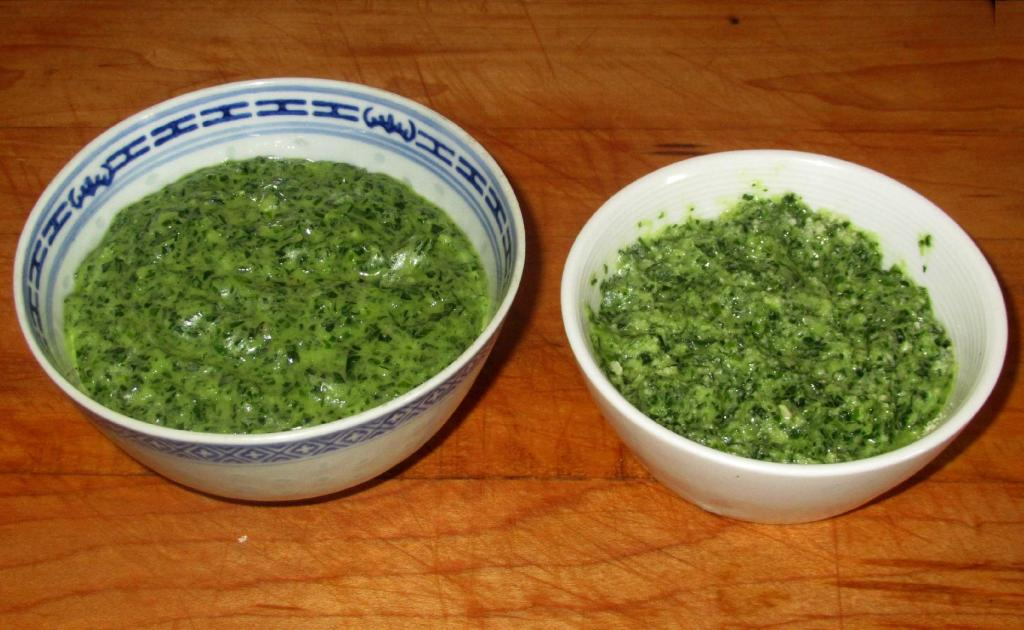 Scallion Garlic Pesto
