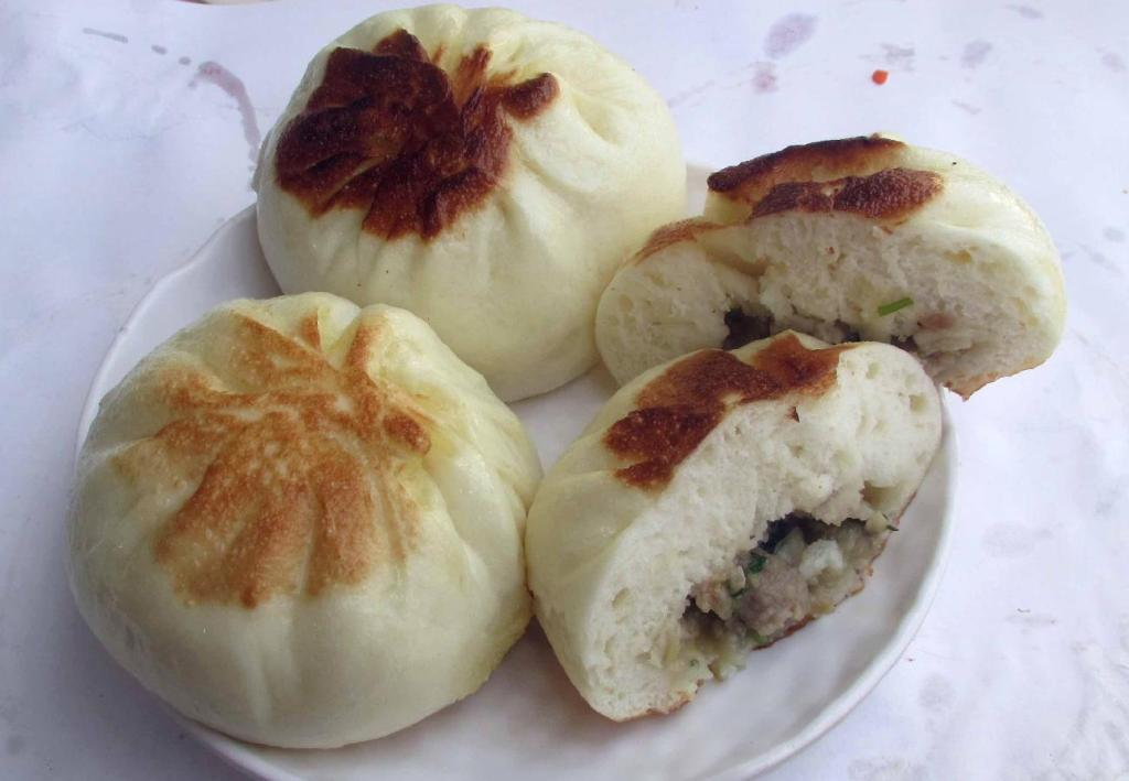 Abalone and Pork Buns