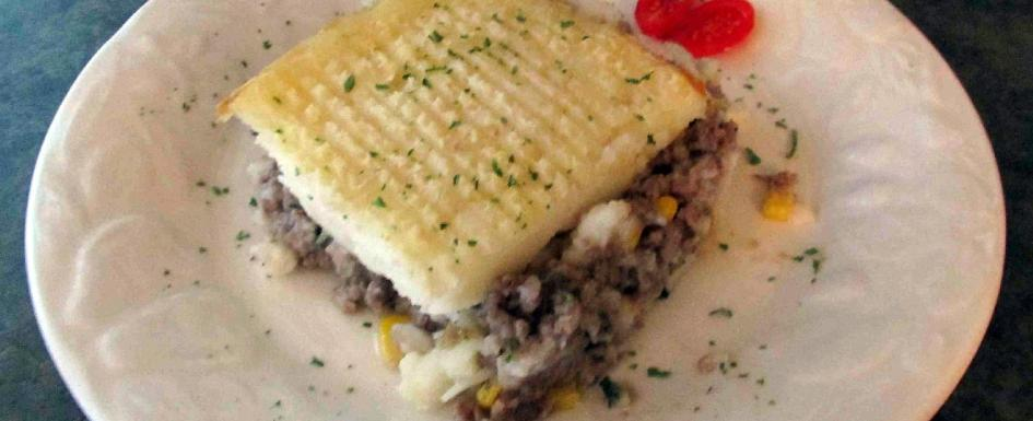 A serving of Cottage Pie