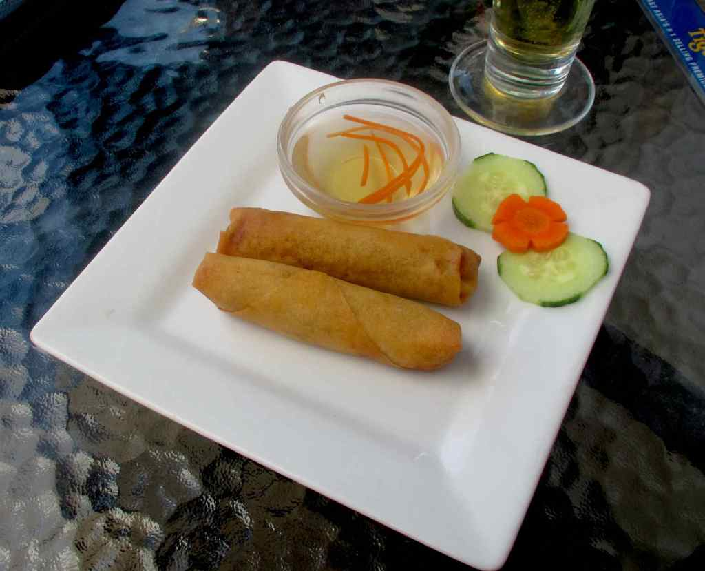 Nuoc Cham Sauce with Vietnamese Spring Rolls