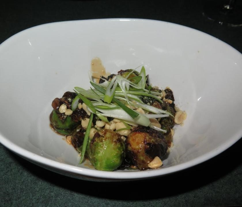 Kung-Pao Brussel Sprouts at Brooklyn Warehouse