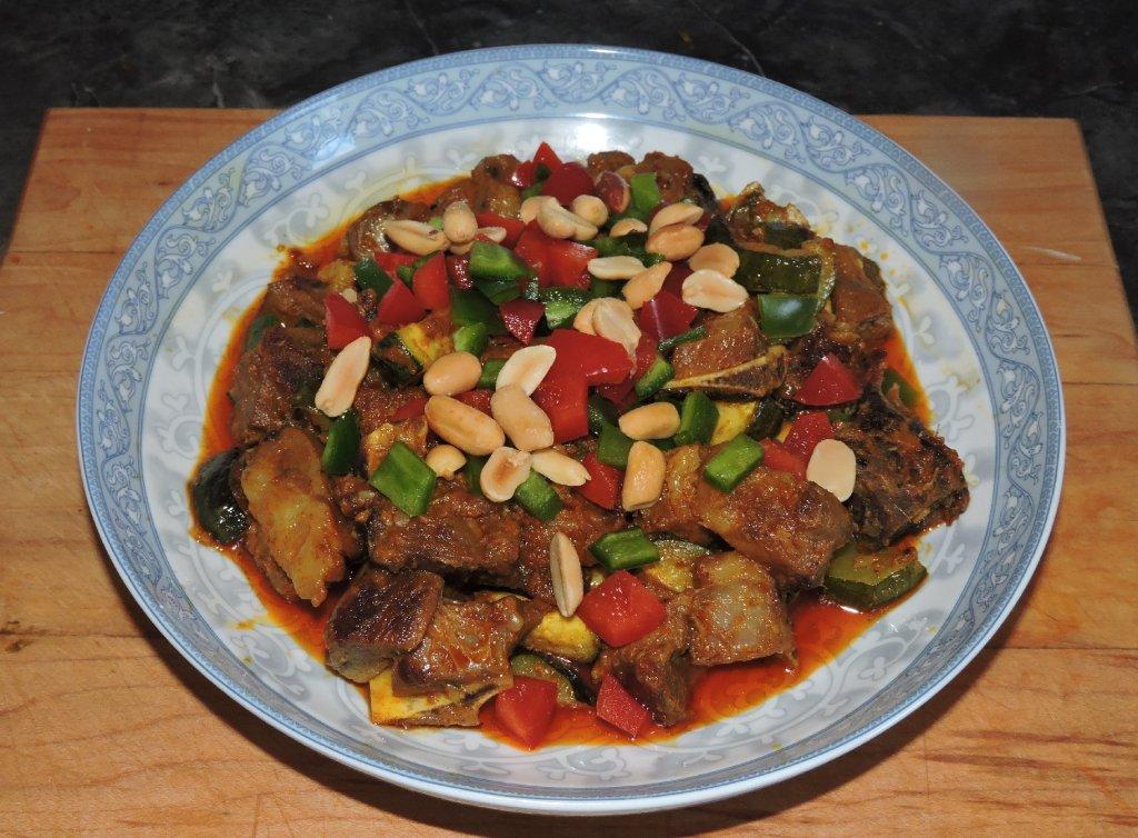 Lamb Curry Pan-Asian Style
