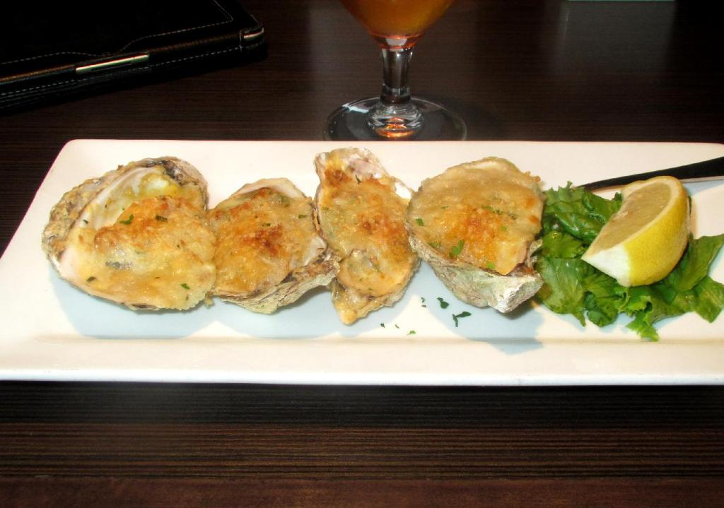 Oysters Rockefeller at MacKelvie's