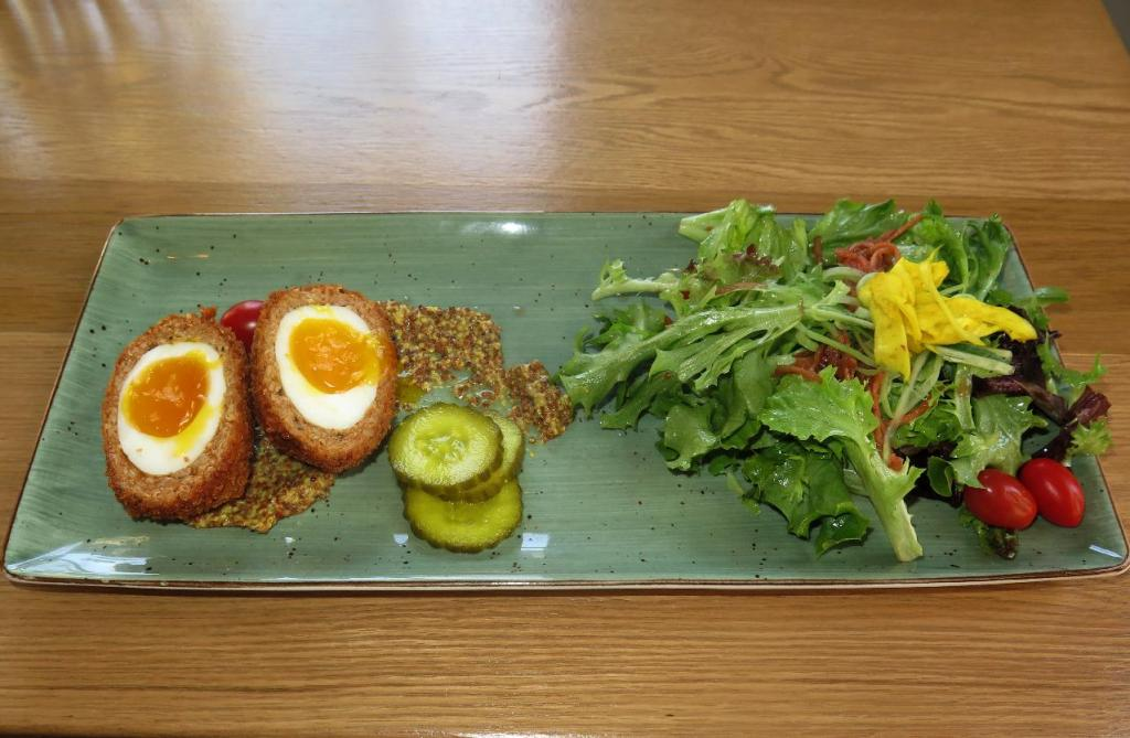 Scotch Eggs at The Clarendon