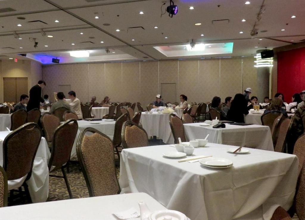 Inside the Floata Seafood Restaurant