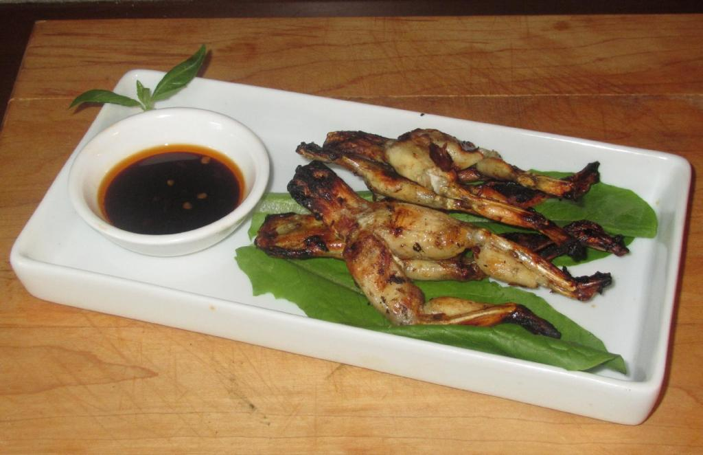 Spicy Grilled Frog Legs