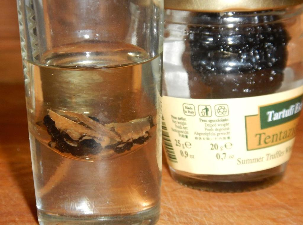 Making Truffle Oil