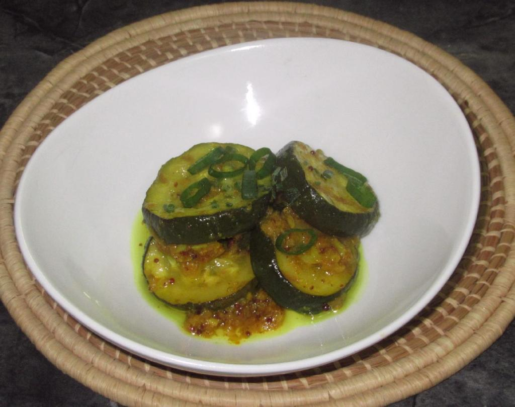 Spicy Grilled Zucchini Pickle