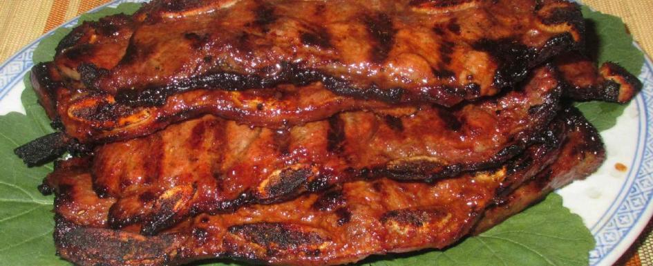Spicy Korean Beef Ribs