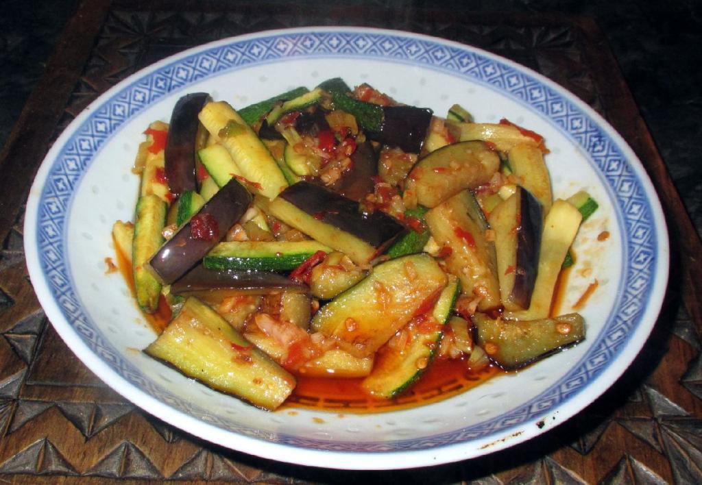 Yu Xiang Eggplant - 魚香茄子