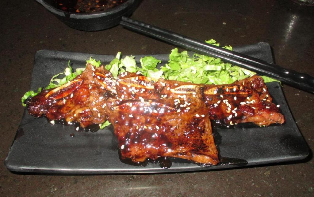Beef Short-rib at the Hakata Ramen Restaurant