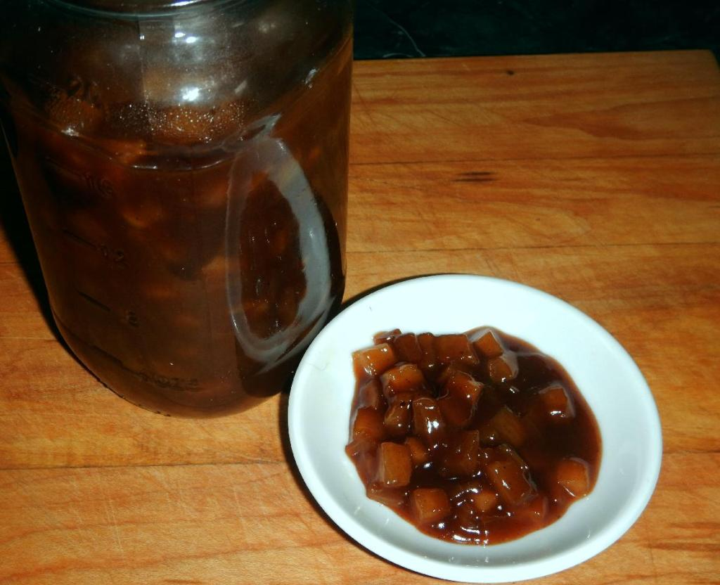 Home-made Branston Pickle