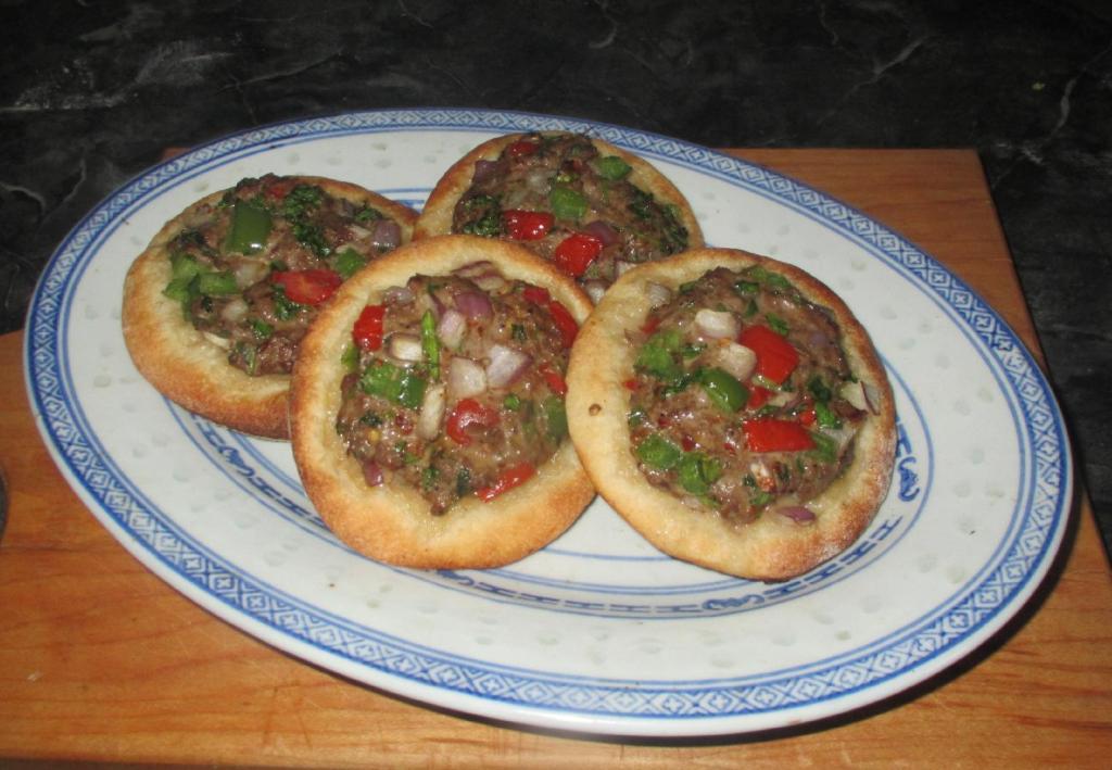 Mini Lahmadjo – Armenian Pizza