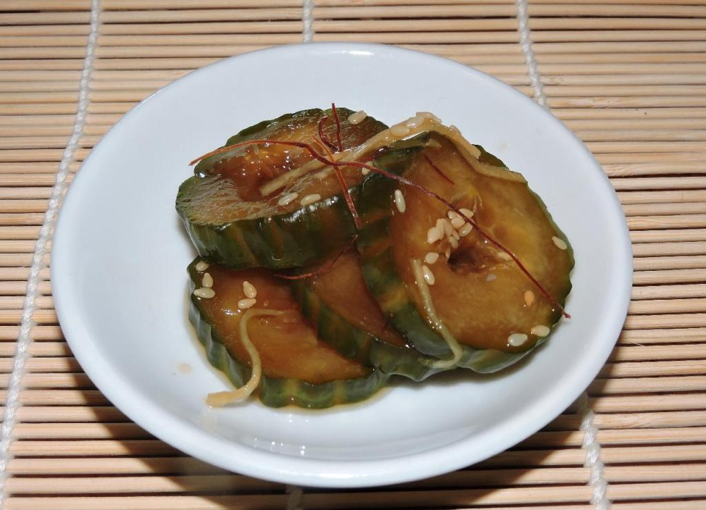 Soy-Pickled Cucumber