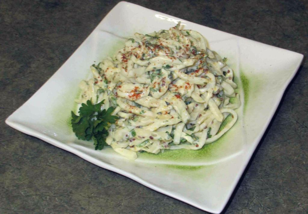 Celeriac Salad (Celery Root Remoulade)