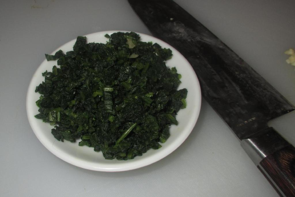 Chopped Salted Radish leaves for 萝卜缨炒鸡片