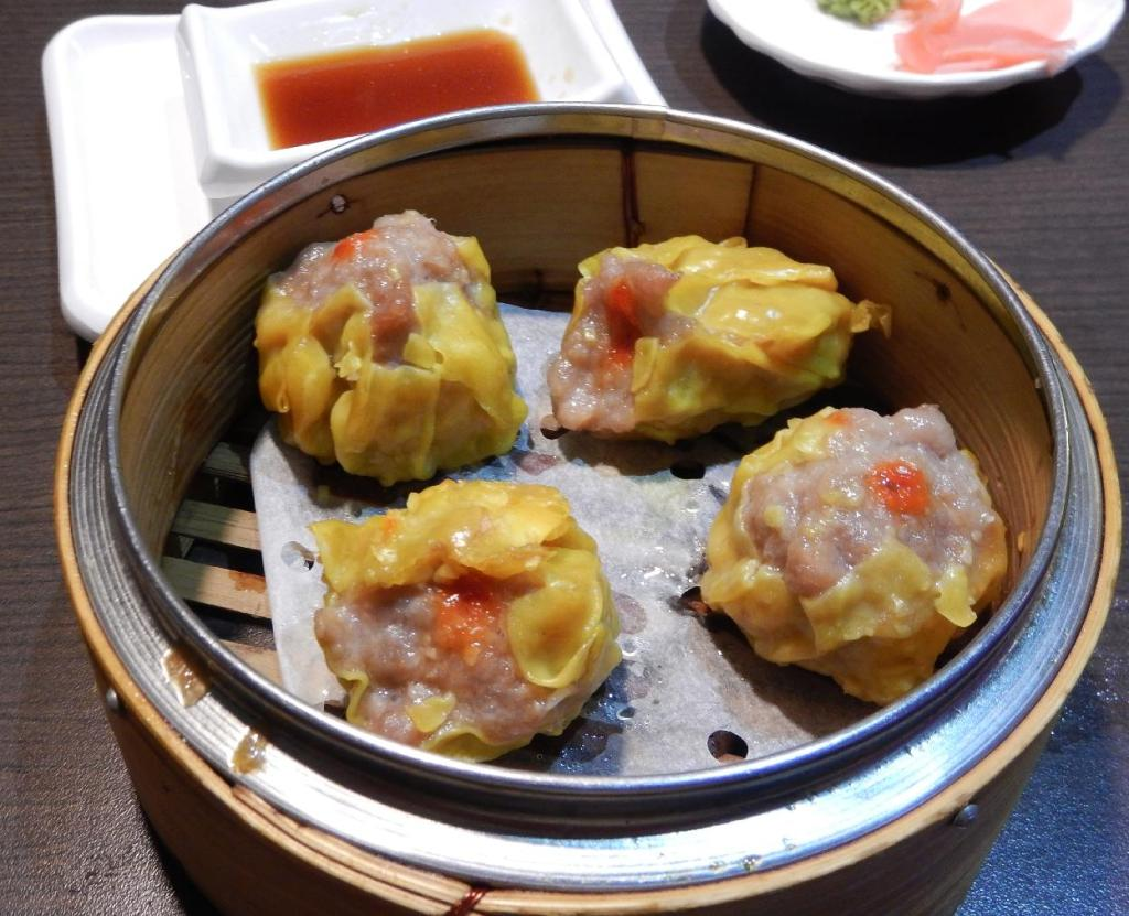 Shu Mai at the Sushi Village in Ottawa