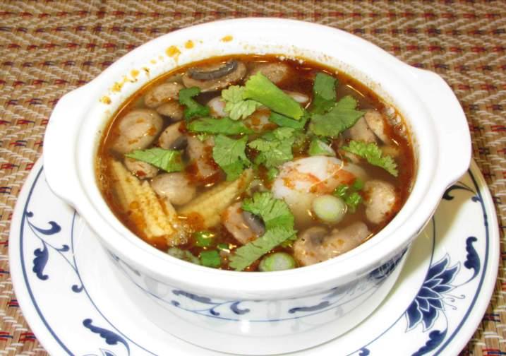 Tom-Yum Soup at Bangkok Thai