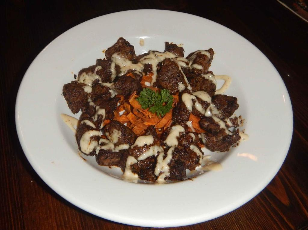 Blackened Tidbits at the Underground Tap and Grill in Edmonton