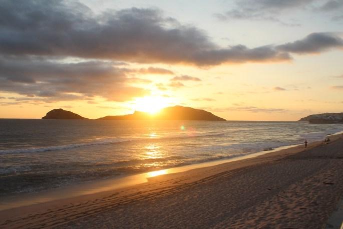 Beach Sunset at Mazatlan