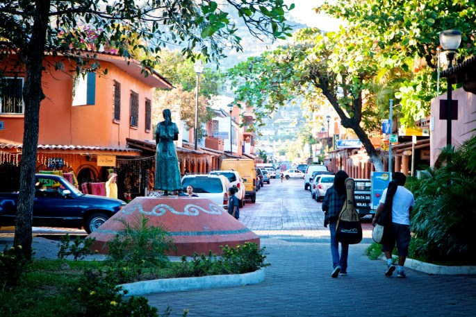 Downtown of Zihuatanejo