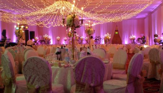 Wedding at hotel Marriot Reception