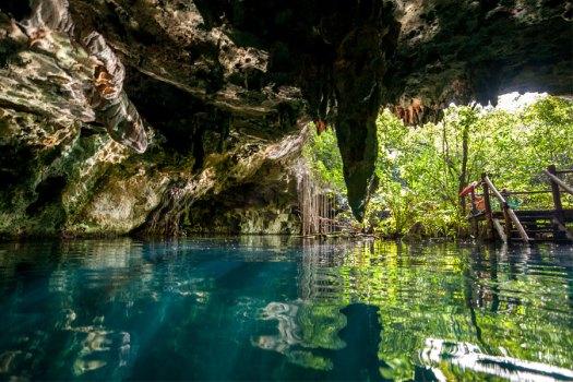caves at akumal tour