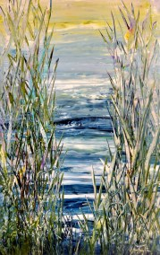 """Waterfront 43 30"""" X 48"""" SOLD"""