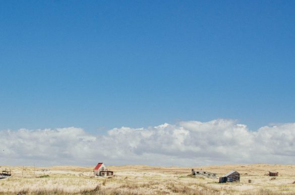 Lanscape of plain and sky