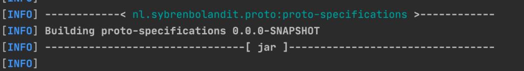 maven output building proto specifications snapshot 1024x139 - JGITVER