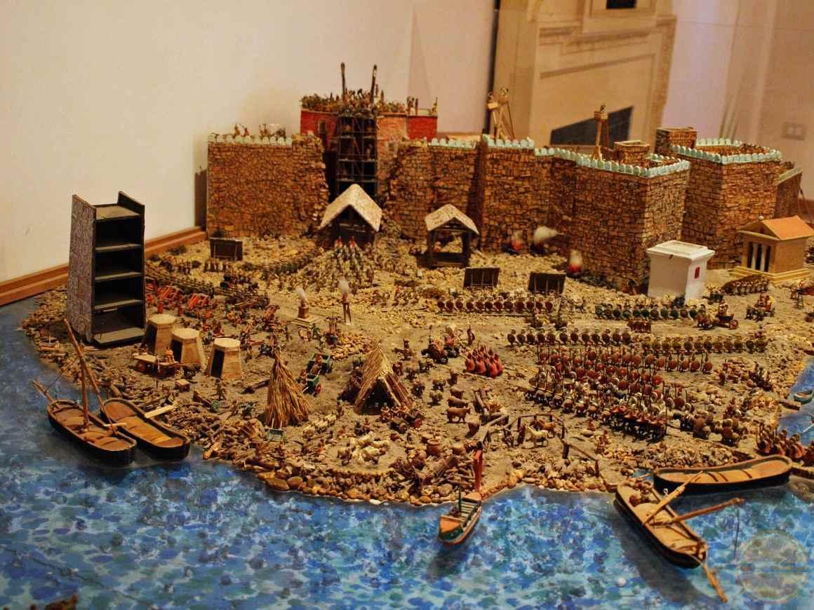 oblężenie miasta makieta