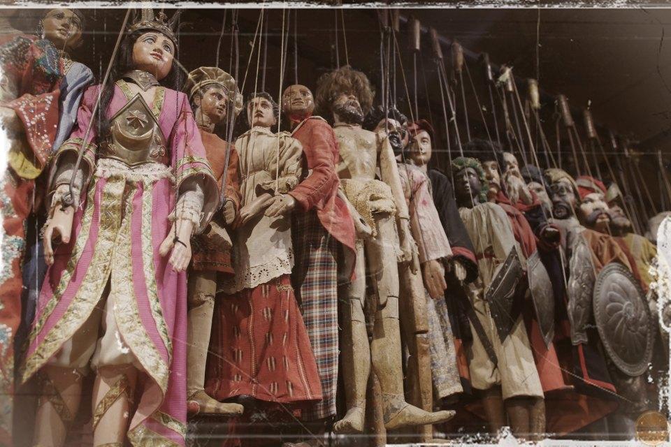 teatr marionetek na sycylii