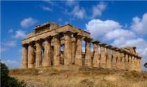 Pozostałości antycznej świątyni w Segeście.