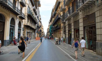 Ulica w Palermo