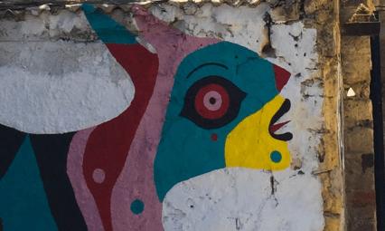 Street Art w Palermo