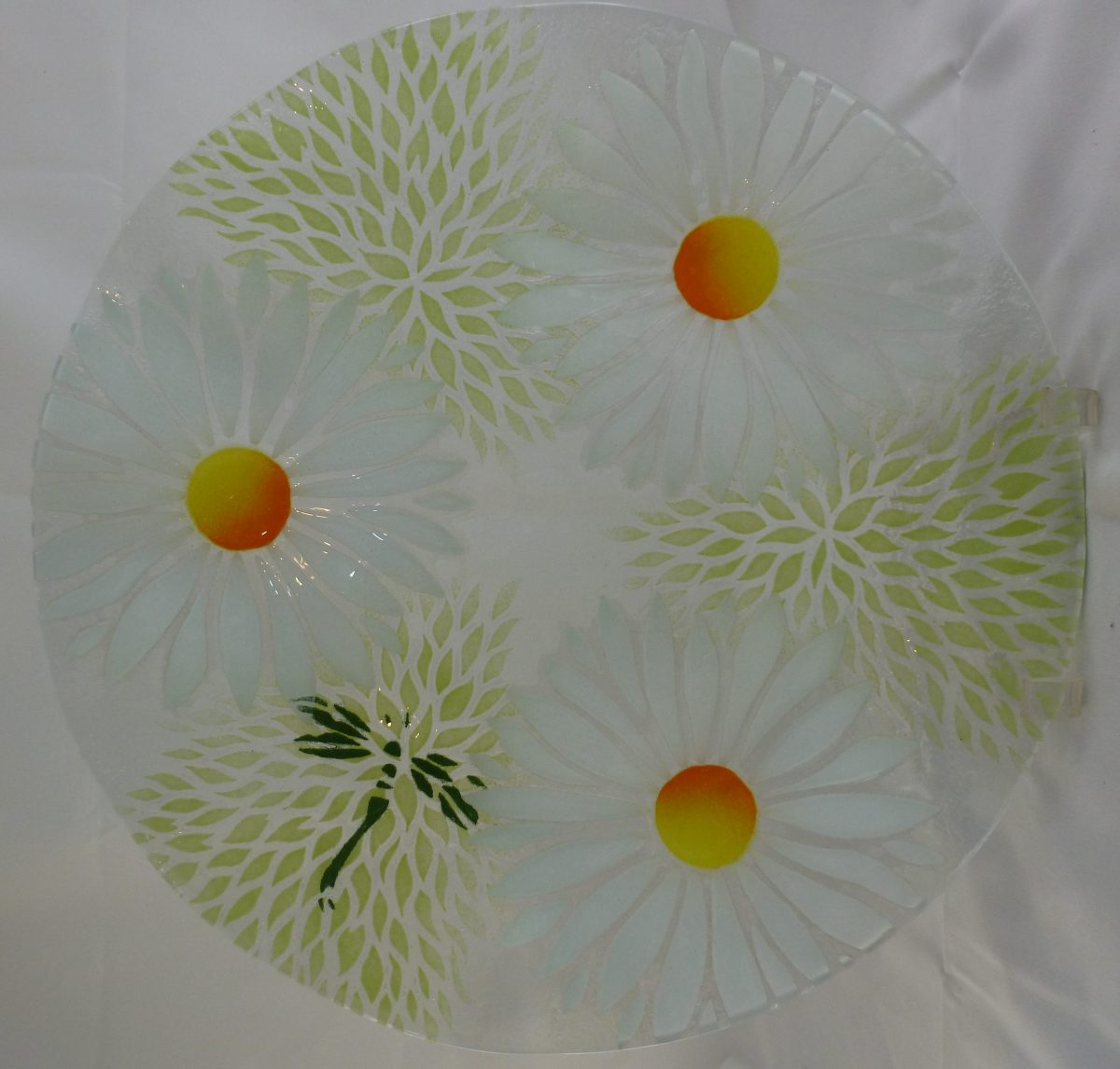 Daisy Cake Plate