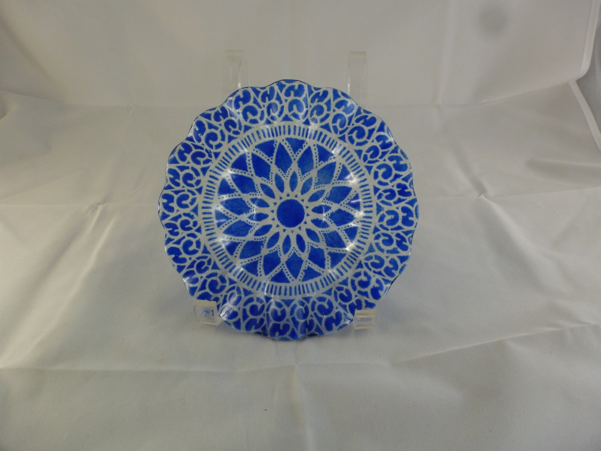 Cobalt Embassy Berry Bowl