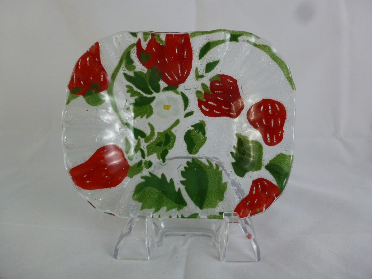 Strawberry Soap Dish