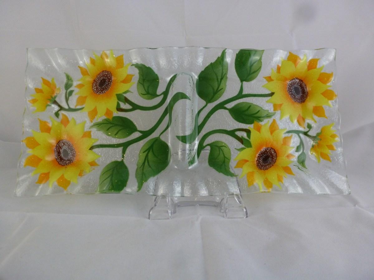 Sunflower Relish Tray