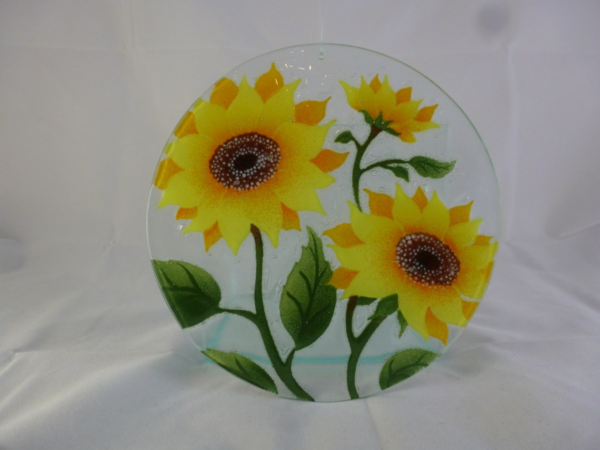 Sunflower Suncatcher