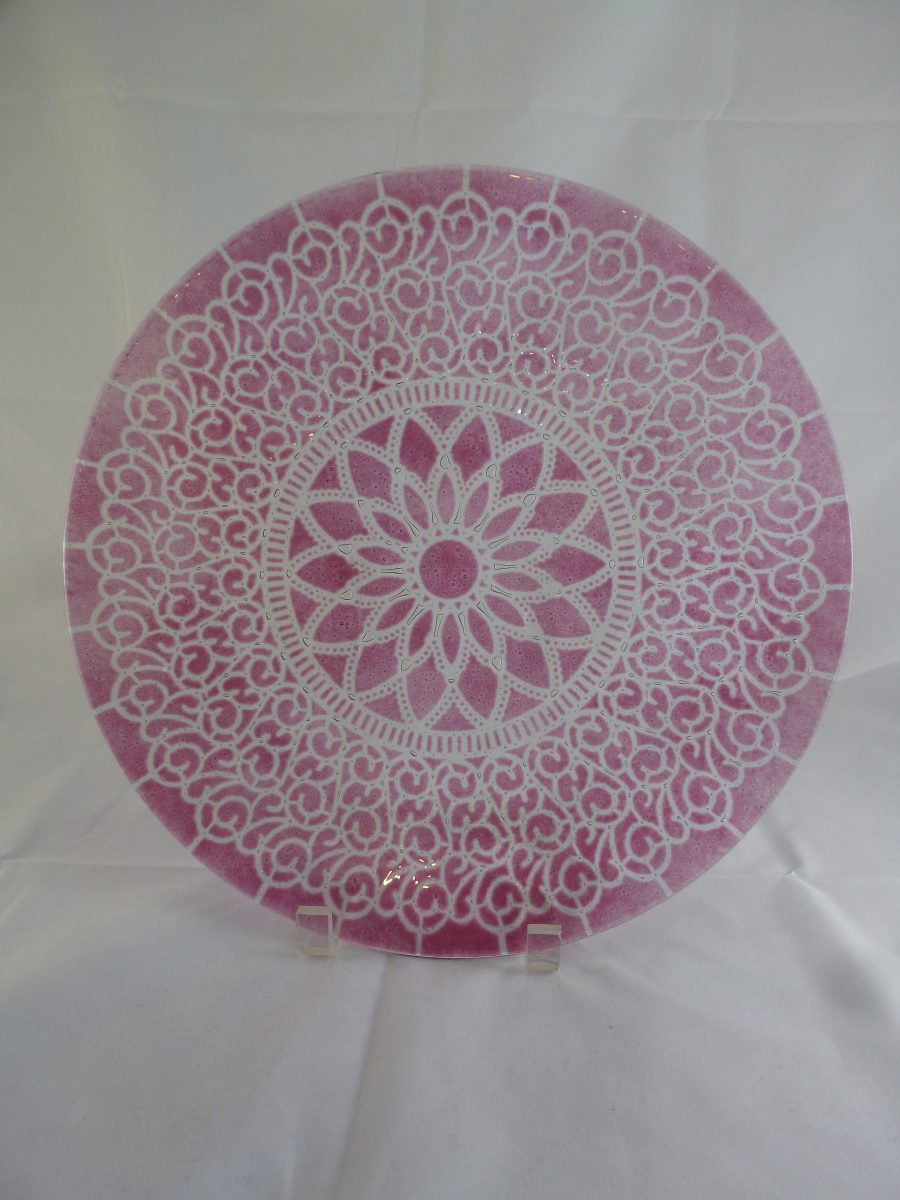Cranberry Embassy Large Dinner Plate