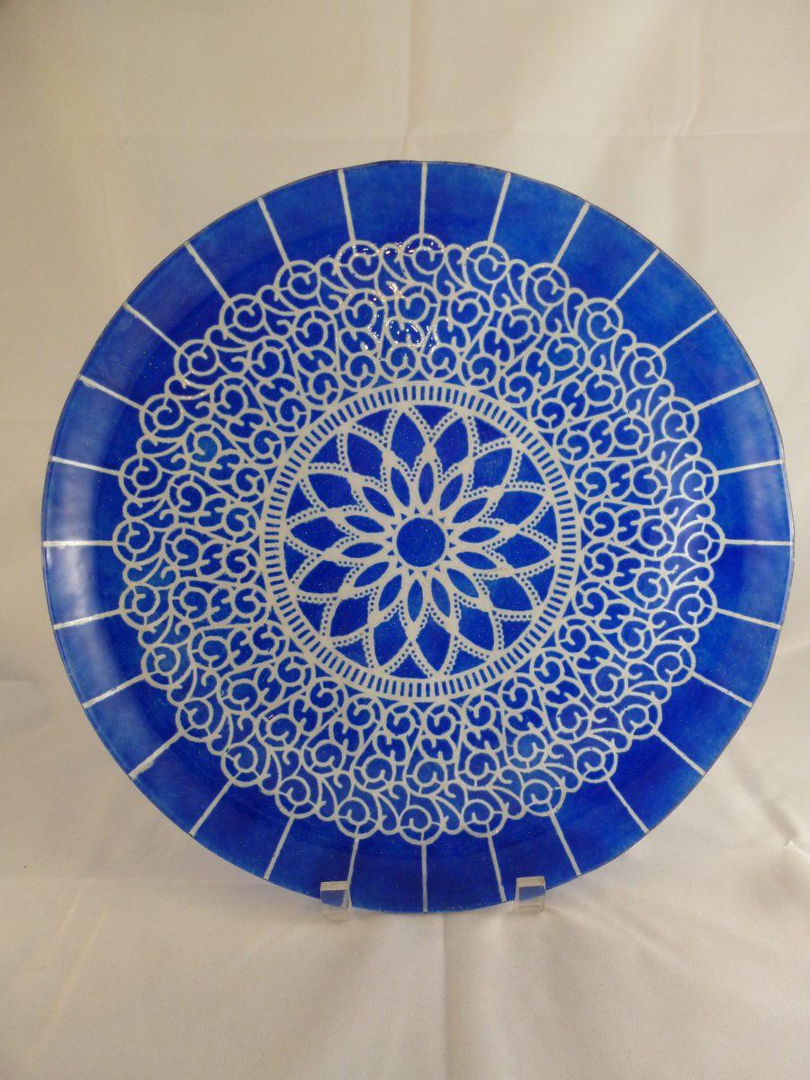 Cobalt Embassy Platter