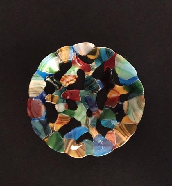 Engler Glass small opaque bowl