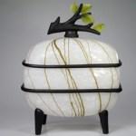 Glass lantern by Leppla