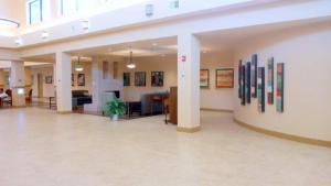 lobby with Tiersky
