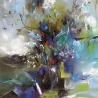 Abstract Floral by Lisa Schuster