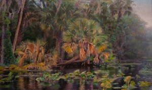 RIVER OF PALMS 40X24