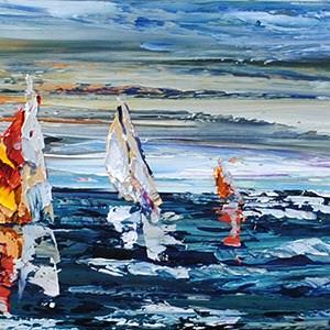 Sailboats 15x72
