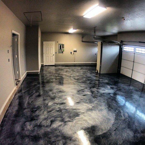 Sydney Epoxy Flooring - Metallic Effect Epoxy Floor Finish